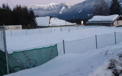 Tennisplatz instandsetzen 2021